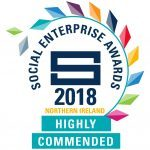 NI Social Enterprise Awards Highly Commended Logo