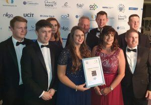 Team ATG with their Highly Commended Award
