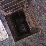 Oil contamination in a drain
