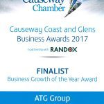Causeway Coast and Glens Business Awards 2017: Business Growth of the Year Award