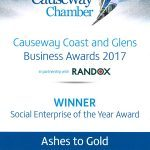 Causeway Coast and Glens Business Awards 2017: Social Enterprise of the Year Award