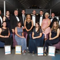 Staff of ATG with their awards from the ceremony