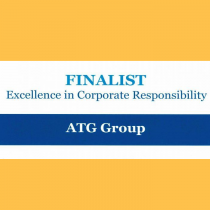 ATG Group Finalist Certificate for the Causeway Coast and Glens Business Awards 2019