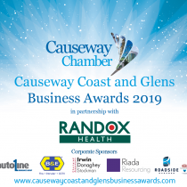Causeway Coast and Glens Business Awards 2019 Logo