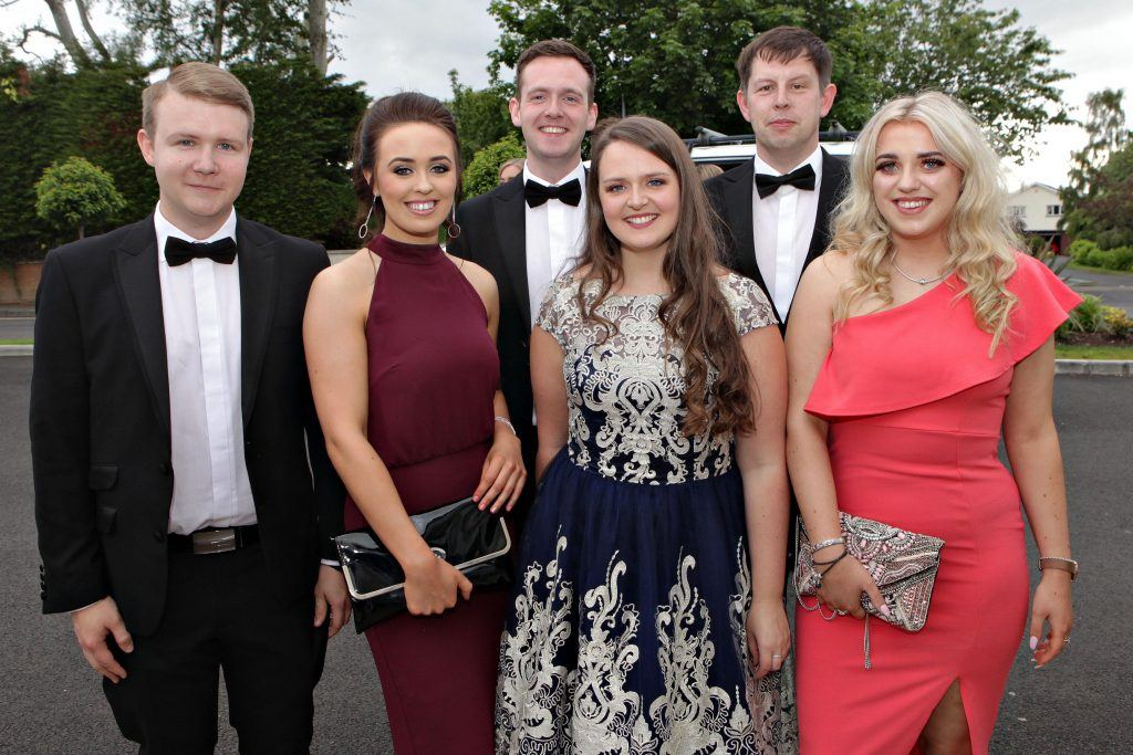 ATG staff attending the Causeway Coast and Glens Business Awards 2019