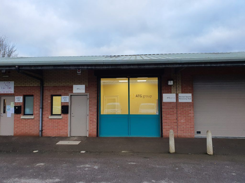 A photo showing our new Lurgan office from the front.