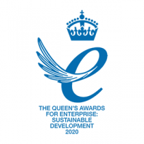Logo for The Queen's Awards for Enterprise: Sustainable Development 2020