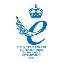 Logo for The Queen's Awards for Enterprise: Sustainable Development 2020