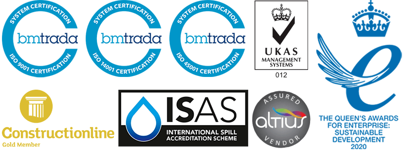 ATG Group awards and accreditations - updated 01/2021