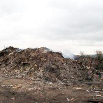 Illegal waste at Ridgeway Park Farm
