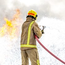 Firefighting foam is one of the PFAS found in the environment